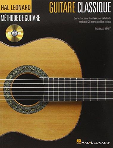 Hal Leonard Méthode de Guitare Classique + CD