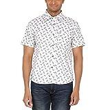ALLTIMES Men's White Color Shirts