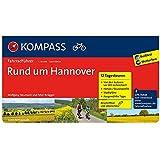 Rund um Hannover: Fahrradführer mit Routenkarten im optimalen Maßstab. (KOMPASS-Fahrradführer, Band 6018)