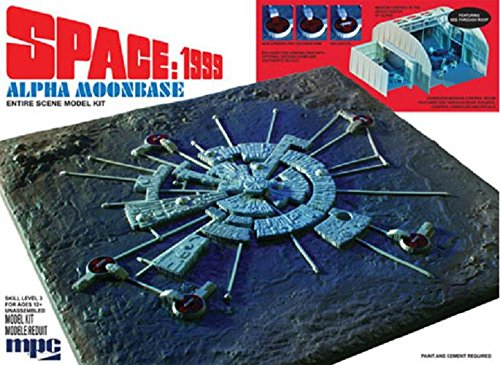 Gerry Anderson Spazio 1999 Alpha Luna Base 1: 1800 Kit Modello Gerry Anderson Space 1999 Alpha Moon Base 1:1800 Model Kit