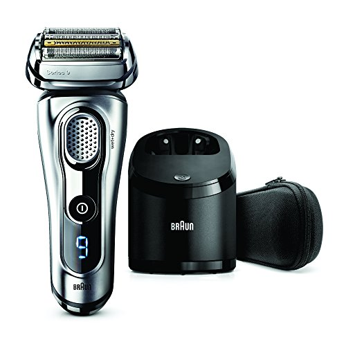 Braun Series 9 9290 cc Wet and Dry Shaver with Clean and Charge System (Silver)