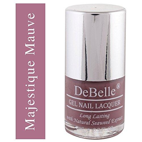 DeBelle Gel Nail Lacquer Mauve Nail Polish - 8 ml