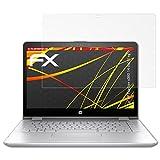 atFolix Folie für HP Pavilion x360 14-ba101ng Displayschutzfolie - 2 x FX-Antireflex-HD hochauflösende entspiegelnde Schutzfolie