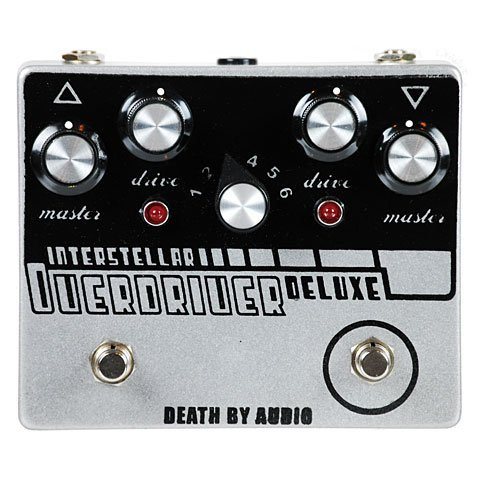 Death By Audio Interstellar Overdriver Deluxe · Pedal guitarra eléctrica