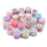 TININNA 100 pz muffin carta tazze Cupcake tazze di cottura Wrapper Liners Muffin Coppe Contenitori decorazioni