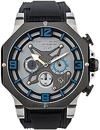 Reloj Mulco MW5-3741-026 Hombre Gris Silicona Cronógrafo