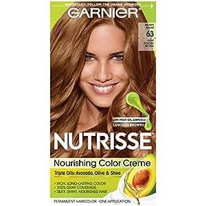Garnier Nutrisse Nourishing Color Crème Hair Color, Light Golden Brown