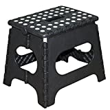 #5: Primelife Plastic Folding Stool color may vary 12 inch stools