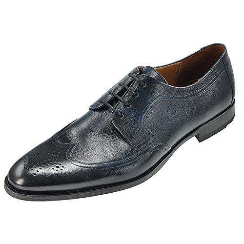 LLOYD 15-084-09 hutchinson bleu-business chaussures à lacets-peaux épilés de bovins-semelles en cuir Bleu - Bleu