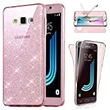 Coque Compatible avec Samsung Galaxy J3 2016, Housse Etui Gel Silicone Protection...