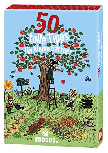 moses. 50 tolle Tipps für kleine Gärtner | Kinderbeschäftigung | Kartenset