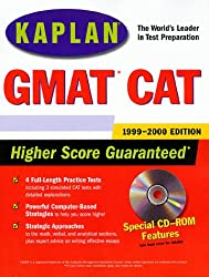 KAPLAN GMAT CAT 1999-2000 WITH CD-ROM (Book & CD Rom)