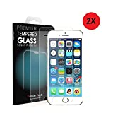 iPhone 7 Plus/iPhone 8 Plus Pellicola Protettiva FusionTech® Pellicola Vetro Temperato Screen Protector Ultra Resistente (0.26mm HD Alta Trasparenza) per iPhone 6S Plus/iPhone7 Plus/ iPhone 8 Plus
