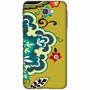 Samsung Galaxy J7 Prime Hard Plastic Back Cover - Multicolor Designer Cases Cover By Printland
