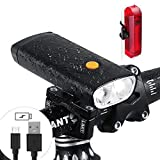 Bike Light Set - Powerful and Brightest 1000 Lumen Headlight - Built-in 5000mAh