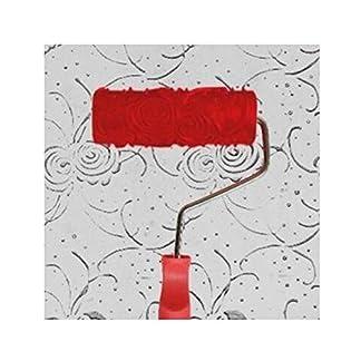patr/ón 9 Black Temptation En Relieve Rodillo de Pintura Pintura de Pared Runner Wall Decor Herramienta de Bricolaje