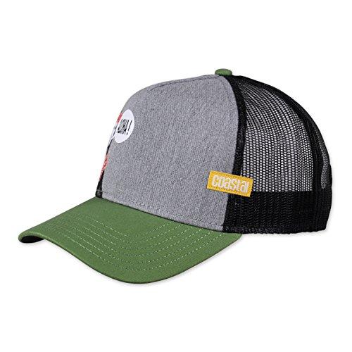 COASTAL - Mona (grey) - Trucker Cap Meshcap Kappe Mütze Cappy Caps