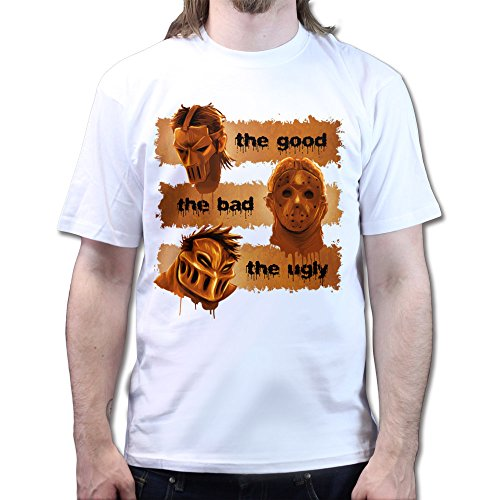 The Good The Bad The Ugly Guys Horror Film Scary Halloween T-shirt