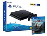 PS4 Slim 1Tb Negra Playstation 4 Consola + God Of War