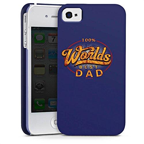 Apple iPhone X Silikon Hülle Case Schutzhülle Worlds Best Dad Bester Vater Premium Case glänzend