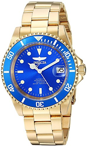 Invicta 24763 Pro Diver  Unisex Wrist Watch Stainless Steel Automatic Blue Dial