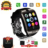 Smart Watch Phone Touchscreen,Bluetooth Smartwatch con Camera,Smart Orologio,Impermeabile Orologio Intelligente con SIM Card Fessura per Android Samaung Ios Apple Iphone 7 Plus 6 Donna Uomini Uomo