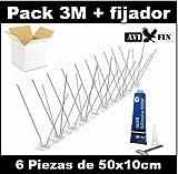 Pack 3 Metros + fijador. AVIFIN iH100 (10cm ancho). Fabricación Española.