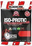 BlackLine 2.0 Iso-Protic Isolate Protein Matrix Konzentrat Eiweiß Proteinshakes Eiweißshake 500g (Strawberry Crumped Cake - Erdbeerkuchen)
