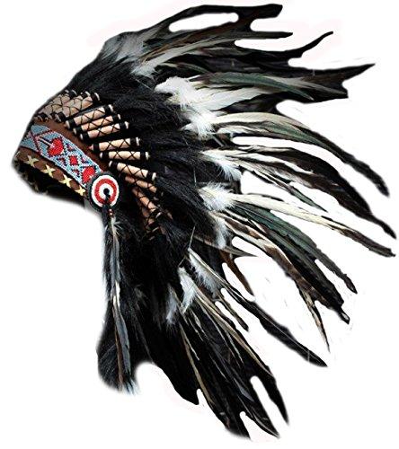 x01-sombrero-indio-penacho-tocado-de-plumas-de-color-blanco-y-negro-con-pelo-negro