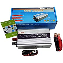 Inversor de corriente coche 12V DC 220V AC 1000W USB Convertidor Conversor 4133