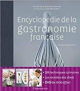 Encyclopédie de la gastronomie française (1Cédérom)