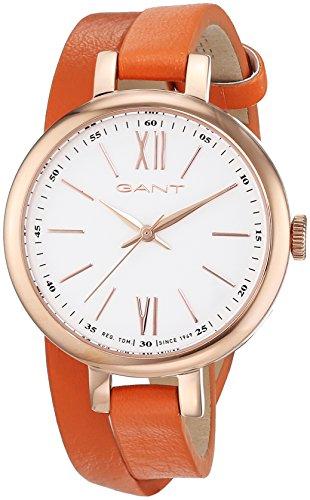 GANT TIME Damen-Armbanduhr Elizabeth Analog Quarz Leder W71401