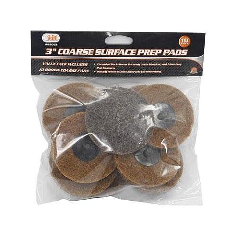 10-pc. 3 Coarse Surface Preparation Discs & Sanding Mandrel Fits