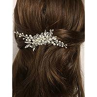 Jovono - Accesorios de pelo vintage para boda novia peines de pelo para mujer