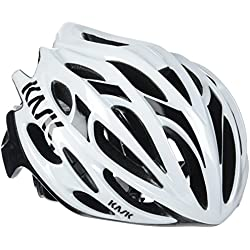 Kask Mojito 16 - Casco para bicicleta - Mixto para adultos, Multicolor (weiß/schwarz), M (52-58 cm)