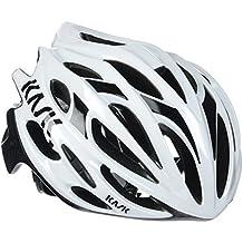 Kask - Mojito 16 - Casco para bicicleta, Adultos , Blanco/Negro, L