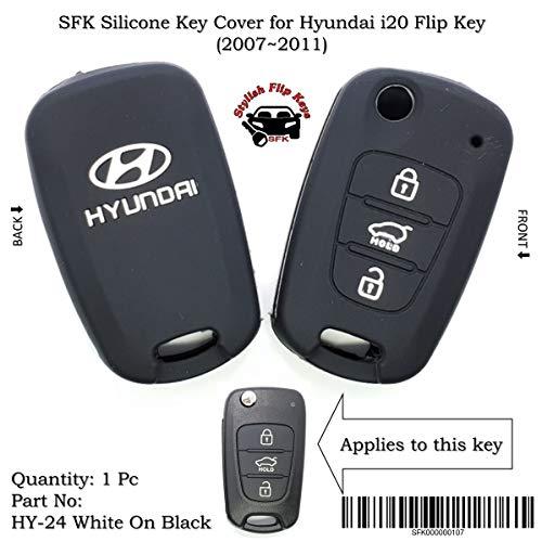 SFK Silicone Flip Key Cover for Old i20 Below 2012 Models(Only for Flip Key)