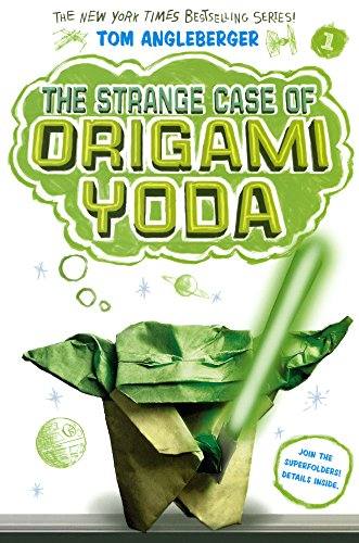 Book cover for The Strange Case of Origami Yoda