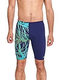 Zoggs Wired – Bañador para hombre tipo jammer, hombre, Wired Jammer, Green/Multi-Colour