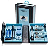 solidBASIC - SBWZ2 - Tragbares Feinmechaniker Werkzeug-Set magnetisch - für Smartphone- | Tab- | Camera- | Laptop- | Uhren- | Computer- | Drucker-Reparatur - 38 Teile