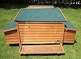 Pets Imperial® - Hühnerstall Balmoral - bis zu 8 Hühner Je nach Größe - leicht zu reinigen - 4