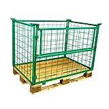 Gitteraufsatzrahmen Nutzhöhe 1000 mm grün 2. Wahl