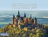Deutschlands Traumziele 2019: PhotoArt Wandkalender. Foto-Kalender mit Bildern von deutschen Reisezielen. Querformat: 44x34 cm