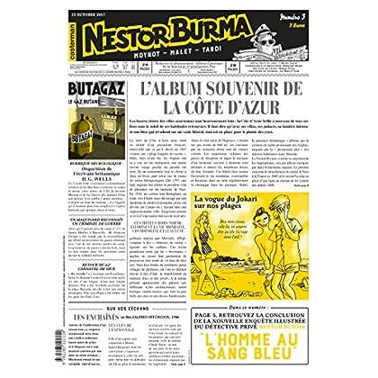 Nestor Burma l'Homme au Sang Bleu Journal N 3