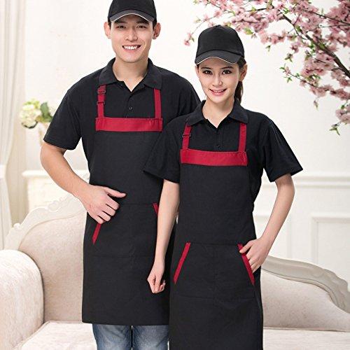 Einkaufszentren Supermarkt Kleid Kleidung Taille Schürze Ankleidezimmer Backen Hotel Restaurant Kellner H?ngen Hals (Männliche Koreanische Tracht)