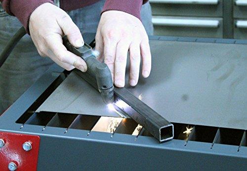 Portátil de mano cortador de plasma corte mesa banco banco de trabajo