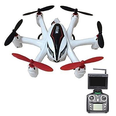 Wltoys Q282G FPV 2.4GHz 4-CH 6-Axis Gyro with 2.0MP Camera RC Quadcopter (Mode 2) RTF White