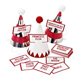 Talking Tables Christmas Entertainment Party Hats and Who Am I Game for Christmas Party