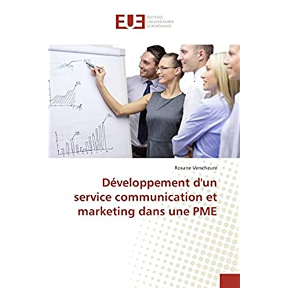 Développement d'un service communication et marketing dans une PME