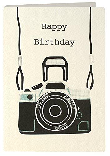 Preisvergleich Produktbild James Ellis Retro Press Geburtstag Kamera Karte